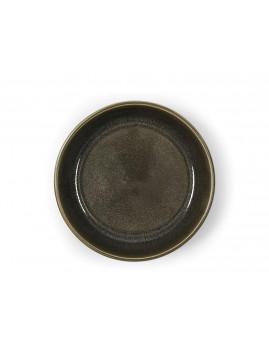 Bitz - Suppeskål 18 cm. mat grå/blank grå.