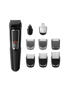 Philips - Series 3000 Multigroom 9-i-1 trimmer til ansigt og hår