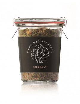 Chilisalt fra Mariager Saltcenter, 100 g.