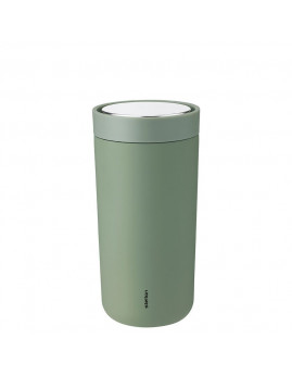 Stelton i:cons - To go click termokop - 0,4 l, Soft Army
