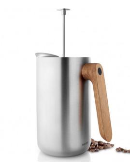 Eva Solo Nordic Kitchen - Stempelkande 8 kopper m. termofunktion. Rustfri stål/egetræ.