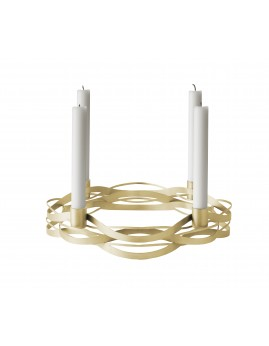 Stelton Tangle Christmas - Adventsstage Messing