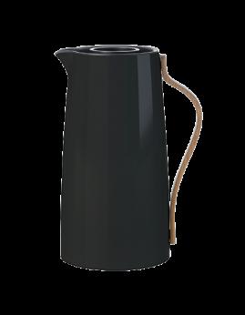 Stelton Emma - Kaffekande 1,2 ltr, Blank Sort