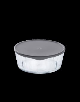 Rosendahl Grand Cru - Låg til stor ovnfast skål, grå
