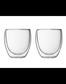 Bodum Pavina - 2 stk. dobbeltvægget glas 0,25 ltr.
