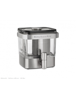 KitchenAid - Cold Brewer 0,85 ltr. stål.