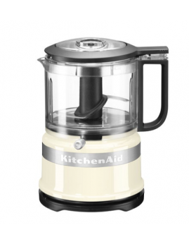 KitchenAid - Mini Foodprocessor 0,95 ltr. Creme.