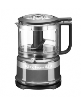 KitchenAid - Mini Foodprocessor 0,95 ltr. Contour Silver.