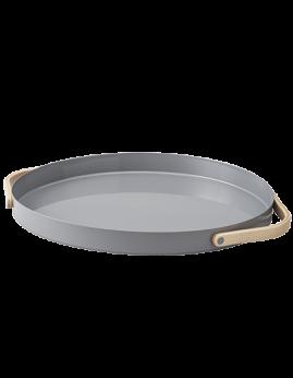 Stelton Emma - Serveringsbakke 35 cm, grå