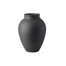 Knabstrup Keramik - Knabstrup Vasen 27 cm, antracitgrå