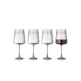 Lyngby Glas Krystal Zero - Rødvinsglas 54 cl, 4-pak