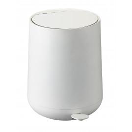 Zone Nova - Pedalspand 5 Liter, Hvid
