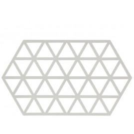 Zone Triangles - Bordskåner, Warm grey